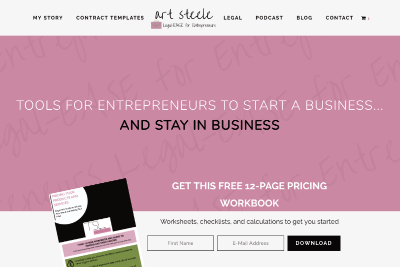 2017-05 Art Steele Website Design