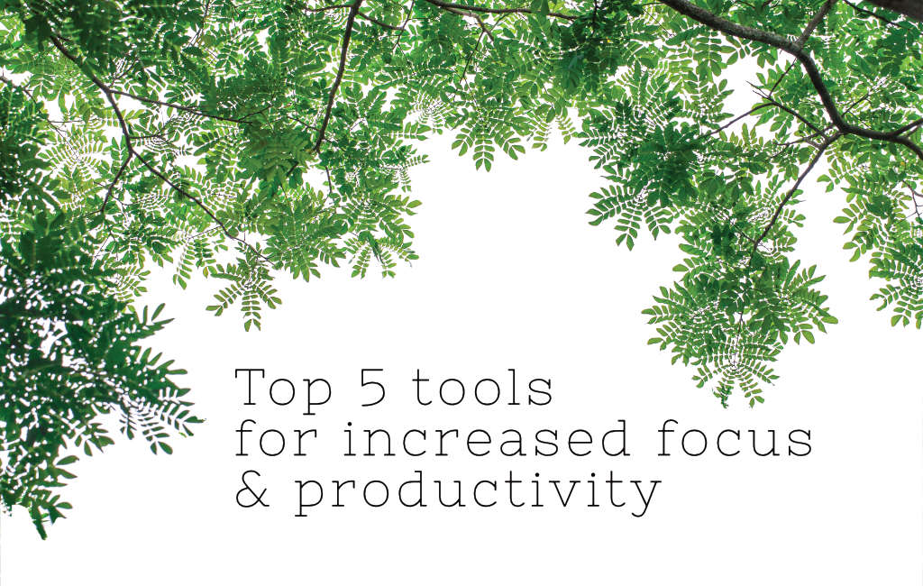 Top 5 tools for increased focus and productivity2