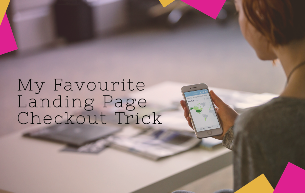My Favourite Landing Page Checkout Trick for WordPress and Woocommerce