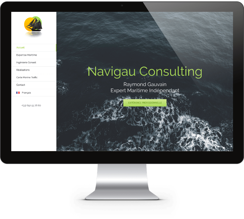 Navigau Consulting Website Design - Mathilde Gauvain Consulting