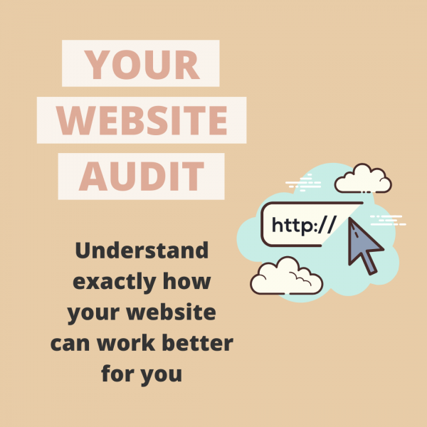 Website Audit - Mathilde Gauvain